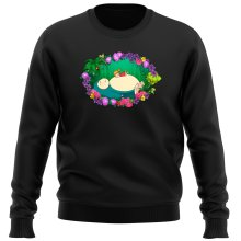 Funny Sweater - Snorlax, Chibi Misty and Totoro ( Parody)