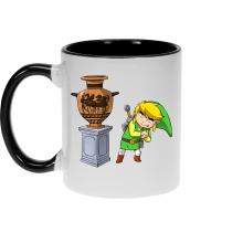 Mugs  parodique Link : Petite visite au musée... (Parodie )