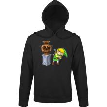 Sweats à capuche  parodique Link : Petite visite au musée... (Parodie )