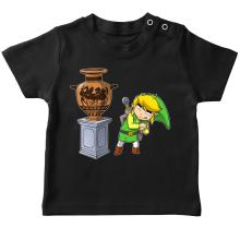 T-shirts  parodique Link : Petite visite au musée... (Parodie )