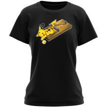 T-shirts Femmes (French Days)  parodique Pikachu : Piège à souris ! (Parodie )