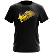 T-shirt  parodique Pikachu : Piège à souris ! (Parodie )
