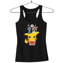 Débardeur Femme  parodique Pikachu - Free Hugs : Pika Free Hugs :) (Parodie )