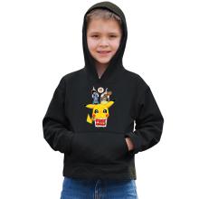 Sweat à capuche Enfant  parodique Pikachu - Free Hugs : Pika Free Hugs :) (Parodie )