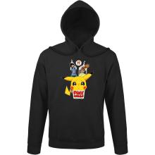 Sweat à capuche  parodique Pikachu - Free Hugs : Pika Free Hugs :) (Parodie )