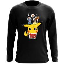 T-Shirt à manches longues  parodique Pikachu - Free Hugs : Pika Free Hugs :) (Parodie )