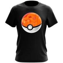 T-shirt  parodique La Poké Ball de Pikachu : Pika Pas Cool ! (Parodie )