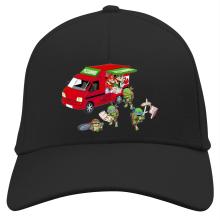 Casquette  parodique Mario; Luigi; Leonardo, Raphael, Donatello et Michelangelo : Pizza Party ! (Parodie )