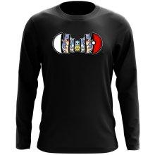 T-Shirt à manches longues  parodique Carapuce, Carabaffe et Tortank : Poké-russe Vol.1 :) (Parodie )