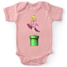 Bodys (French Days)  parodique Princesse Peach se prenant pour Marylin Monroe : Poupoupidou Pou :) (Parodie )