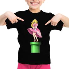 T-shirts (French Days)  parodique Princesse Peach se prenant pour Marylin Monroe : Poupoupidou Pou :) (Parodie )