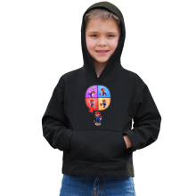 Funny  Kids Hoodie - Mario and Wii Fit ( Parody) (Ref:783)
