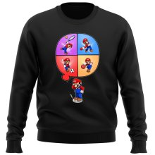 Funny  Sweater - Mario and Wii Fit ( Parody) (Ref:783)