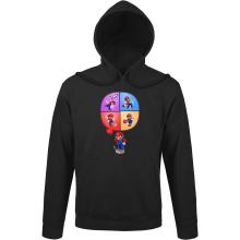 Sweats à capuche  parodique Mario et Wii Fit : Régime virtuel... (Parodie )