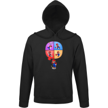 Funny  Hoodie - Mario and Wii Fit ( Parody) (Ref:783)