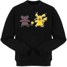 Pulls  parodique Pikachu mode Super Saiyan : Super Sourijin !! (Parodie )