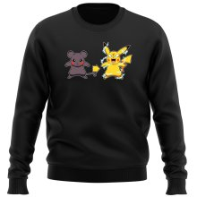 Pull  parodique Pikachu mode Super Saiyan : Super Sourijin !! (Parodie )