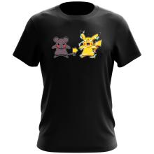 T-shirt  parodique Pikachu mode Super Saiyan : Super Sourijin !! (Parodie )