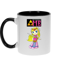 Mug  parodique La Princesse Zelda : The Legend of...ME ! (Parodie )