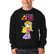 Sweat-shirts  parodique La Princesse Zelda : The Legend of...ME ! (Parodie )
