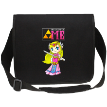 Sac bandoulière Canvas  parodique La Princesse Zelda : The Legend of...ME ! (Parodie )