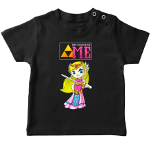 T-shirt bébé  parodique La Princesse Zelda : The Legend of...ME ! (Parodie )