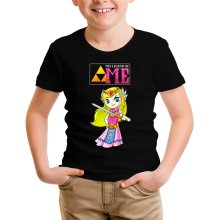 T-shirt Enfant  parodique La Princesse Zelda : The Legend of...ME ! (Parodie )