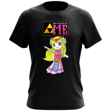 T-shirt  parodique La Princesse Zelda : The Legend of...ME ! (Parodie )