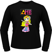 T-Shirts à manches longues  parodique La Princesse Zelda : The Legend of...ME ! (Parodie )