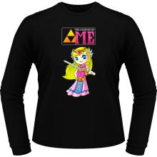T-Shirts à manches longues  parodique La Princesse Zelda : The Legend of...ME ! (Parodie )
