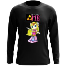 T-Shirt à manches longues  parodique La Princesse Zelda : The Legend of...ME ! (Parodie )
