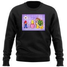 Pull  parodique Super Mario, Princesse Peach et Bowser : Un coeur brisé ! (Parodie )