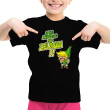 T-shirt Enfant Fille  parodique Link : Un Coup de gueule de héros... (Parodie )