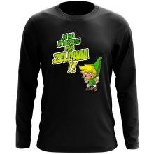 T-Shirt à manches longues  parodique Link : Un Coup de gueule de héros... (Parodie )