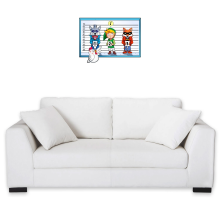 Décorations murales  parodique Link et une Cocotte : Un coupable inattendu... (Parodie )