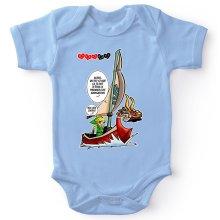 Body bébé  parodique Link - The Wind waker : Un elfe à la mer.... :) (Parodie )