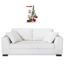 Sticker Mural  parodique Link - The Wind waker : Un elfe à la mer.... :) (Parodie )