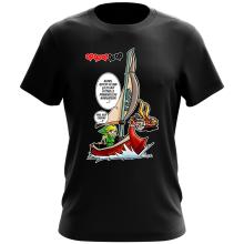 T-shirt  parodique Link - The Wind waker : Un elfe à la mer.... :) (Parodie )