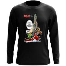 T-Shirt à manches longues  parodique Link - The Wind waker : Un elfe à la mer.... :) (Parodie )
