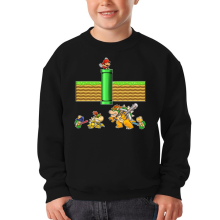 Funny Kids Sweater - Mario, Bowser, Bowser Jr and Koopa Troopa ( Parody)
