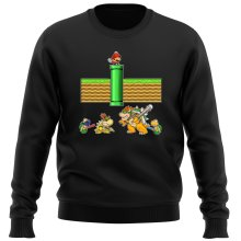 Funny  Sweater - Mario, Bowser, Bowser Jr and Koopa Troopa ( Parody) (Ref:469)