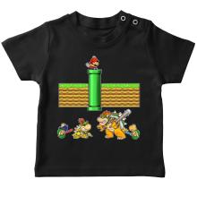 Funny T-Shirts - Mario, Bowser, Bowser Jr and Koopa Troopa ( Parody)