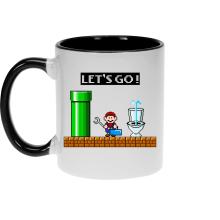 Mugs (French Days)  parodique Super Mario : Un plombier en plein boulot... (Parodie )