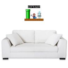 Décorations murales (French Days)  parodique Super Mario : Un plombier en plein boulot... (Parodie )