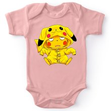 Body bébé (Filles)  parodique Pikachu : Une drôle de tronche :) (Parodie )