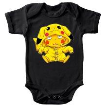 Body bébé  parodique Pikachu : Une drôle de tronche :) (Parodie )
