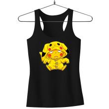 Débardeur Femme  parodique Pikachu : Une drôle de tronche :) (Parodie )