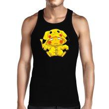 Débardeur  parodique Pikachu : Une drôle de tronche :) (Parodie )