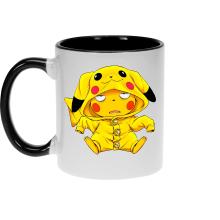 Mug  parodique Pikachu : Une drôle de tronche :) (Parodie )