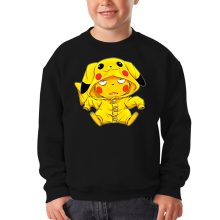Pull Enfant  parodique Pikachu : Une drôle de tronche :) (Parodie )